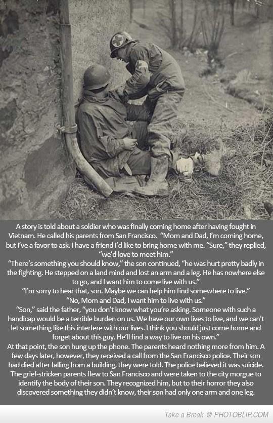 Sad War Story